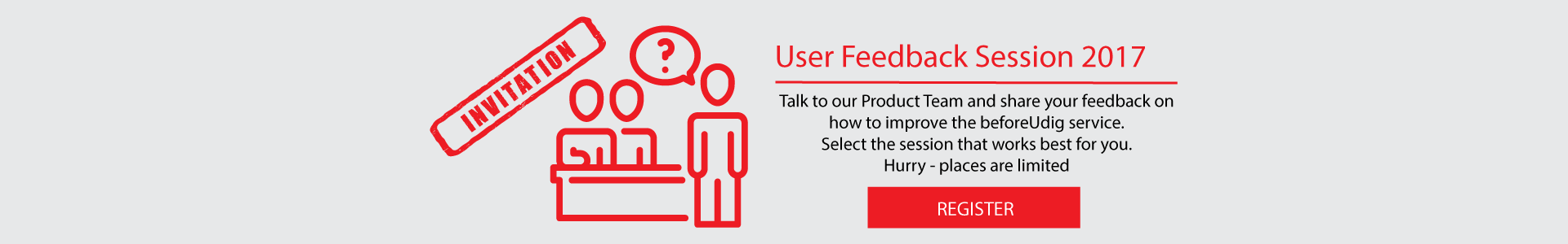 User feedback session