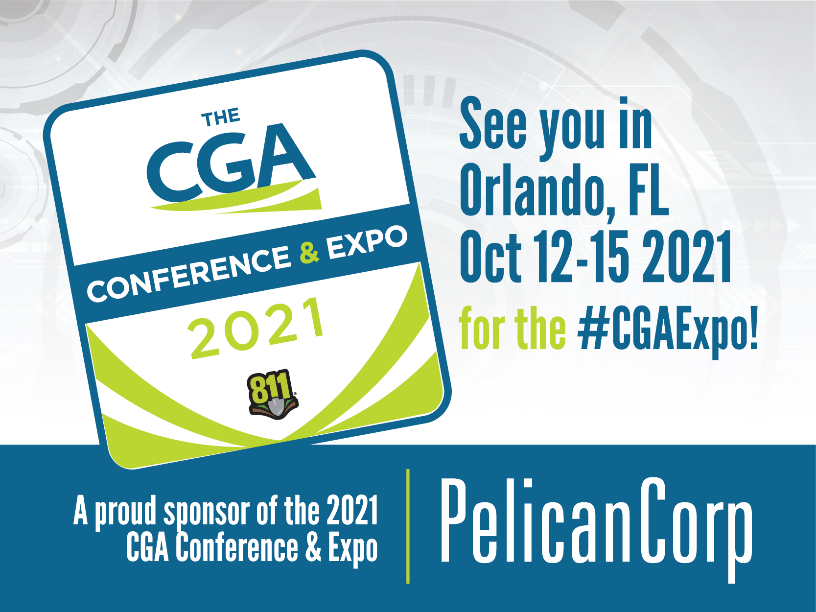 PelicanCorp to Appear at Common Ground Alliance Conference
