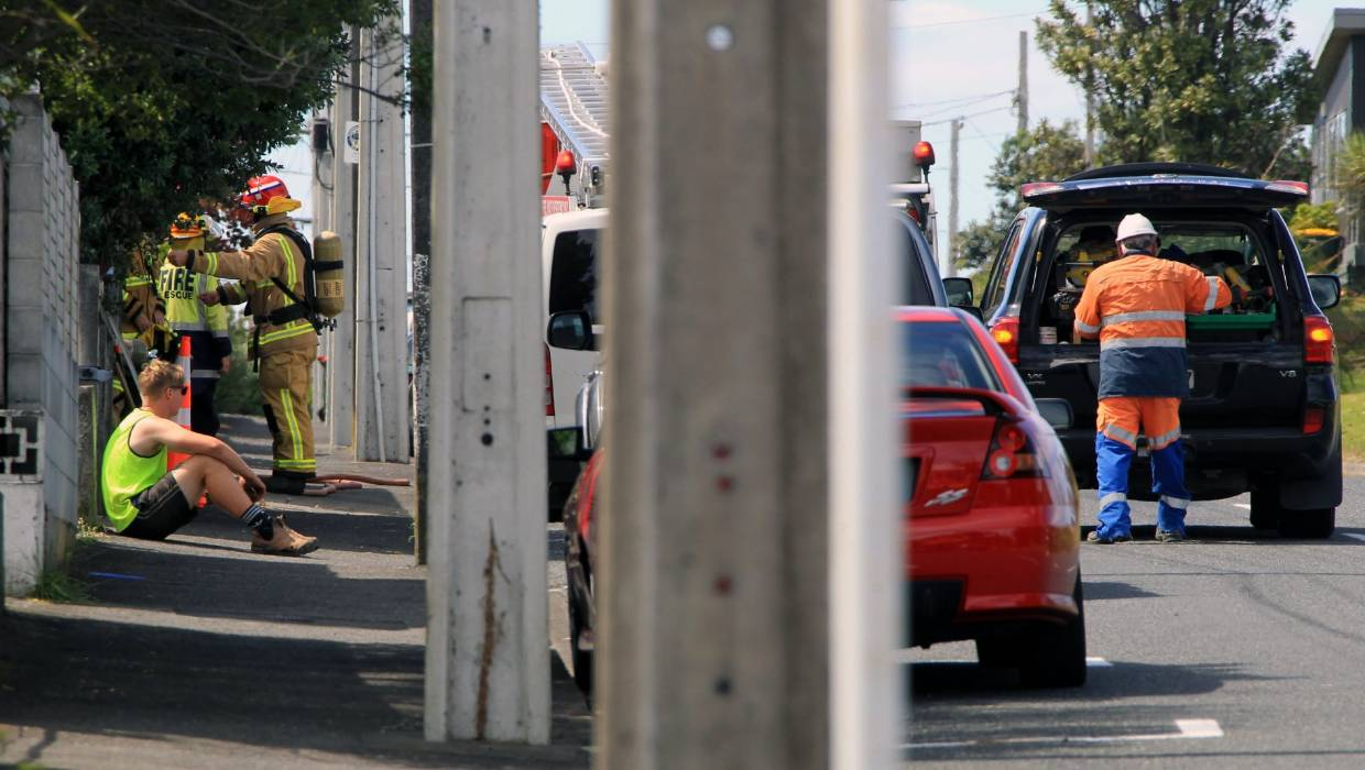 Gas leak prompts call out to New Plymouth suburb